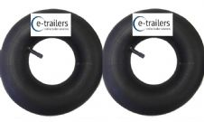 Trailer & Wheelbarrow inner tubes fits 400-8 4.00-8 400x8 4.80/4.00-8 tyres  x 2
